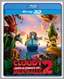 3D BDS B1397 - Cloudy With a Chance of Meatballs 2 (3D)