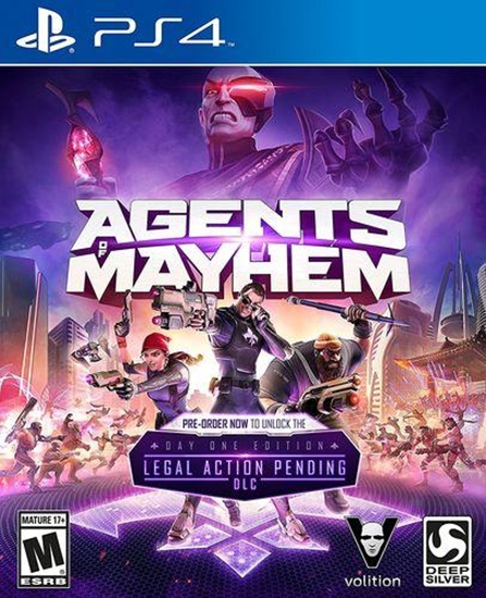 4020628825539 - Agents of Mayhem - PS4