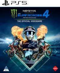 8057168501810 - Monster Energy Supercross: The Official Videogame 4 - PS5