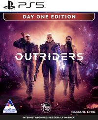 5021290087125 - Outriders - Day One Edition - PS5