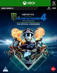 8057168502077 - Monster Energy Supercross: The Official Videogame 4 - Xbox Series X